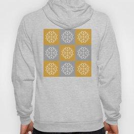 Snowflake 3x3 - Gold & Silver Hoody