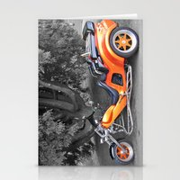 motorbike Stationery Cards featuring Three-wheeled Motorbike by Lynn Bolt