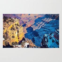 winter light at Grand Canyon national park, USA Rug
