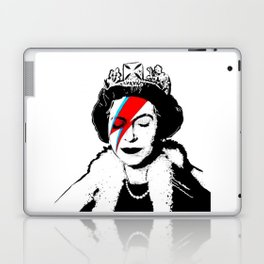 Banksy space queen Laptop & iPad Skin