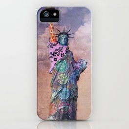 Famous Statues Series #1 iPhone Case
