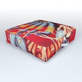 Hindu Kali 11 Outdoor Floor Cushion