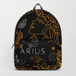 Aquarius Gift Zodiac Design Horoscope Design  Backpack