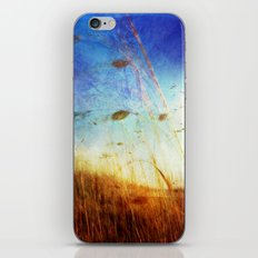 Blowing in the Wind iPhone & iPod Skin