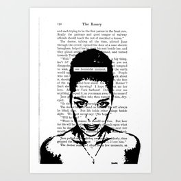 One Homicidal Moment Art Print