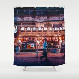 Ginza bar Shower Curtain