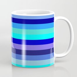 blue kind and latte Coffee Mug