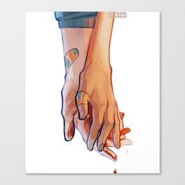 Asheiji hands Canvas Print