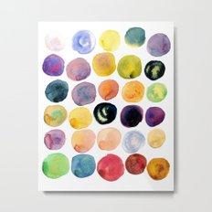 Watercolor Constellation Metal Print
