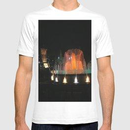 Barcelona Fountain T-shirt