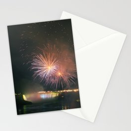 Fireworks over Falls Stationery Cards