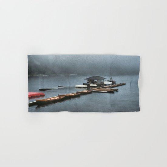 Foggy Morning At The Lake Hand & Bath Towel
