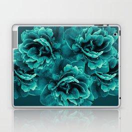 Turquoise Peony Flower Bouquet #1 #floral #decor #art #society6 Laptop & iPad Skin