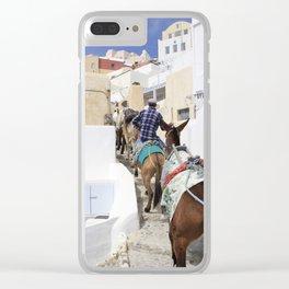 Santorini Clear iPhone Case