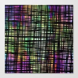 DP035-6 Colorful striped Canvas Print