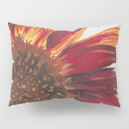 Purple Sunflower Pillow Sham