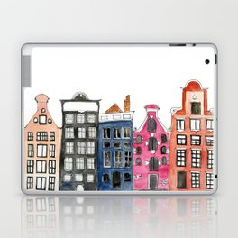 Amsterdam Canal Houses Laptop & iPad Skin