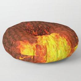 Very Hot! Floor Pillow