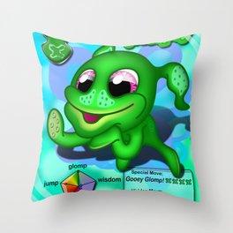 Glompey Throw Pillow