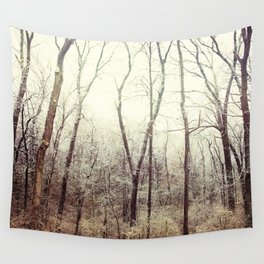 Winter Woods #1 Wall Tapestry