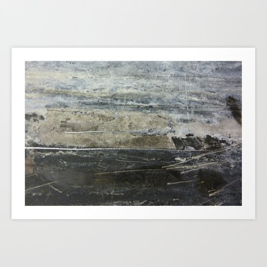 Stormy Sea 2 Art Print