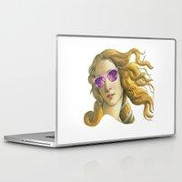 popart Laptop & iPad Skins featuring Venus the Popart Goddess by Ugurcanozmen
