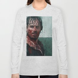 Don't Mess WIth Rick Grimes - The Walking Dead Long Sleeve T-shirt