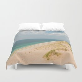Summer at the Dunes Duvet Cover