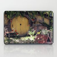 hobbit iPad Cases featuring The Hobbit by Cynthia del Rio