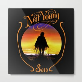 neil young crazy horse solo Metal Print