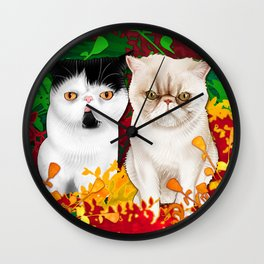Mattingly (@soulpatchkat) and Hamilton Wall Clock