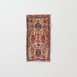Bakhtiari West Persian Carpet Print Hand & Bath Towel