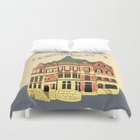 archer Duvet Covers featuring Archer Ave. by andjburke