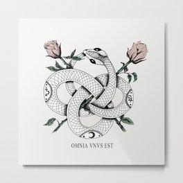 Omnia vnvs est Metal Print