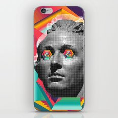 Psychedelic Face iPhone & iPod Skin