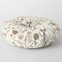 Seed Pods Floor Pillow