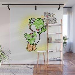 Yoshi Wonderland !  Wall Mural