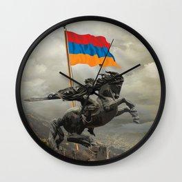 David of Sassoun Wall Clock