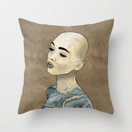 SeaBorn Gold Struck #3 Throw Pillow