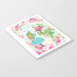 Alice in Wonderland tea party Notebook