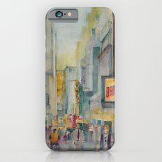Broadway,  New York - Five O'Clock Revised iPhone 6 Slim Case