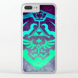 Zelda Shield Clear iPhone Case