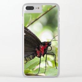 Butterfly Birdwing Clear iPhone Case