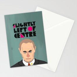 Slightly Left of Centre - Poster Stationery Cards
