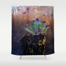 Stem Soul Research Shower Curtain