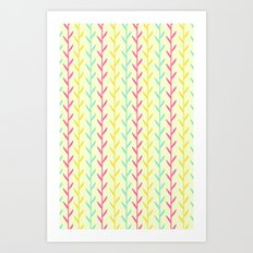 Pretty as a fern  Art Print
