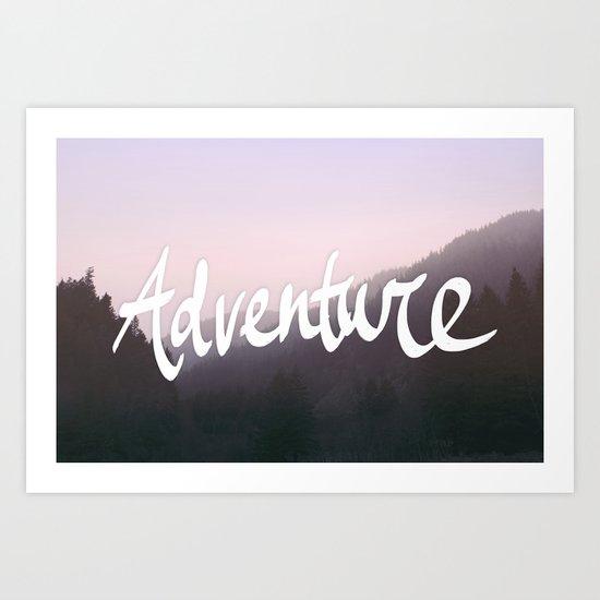 Wild Adventure Art Print