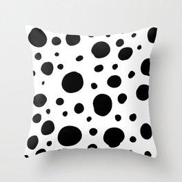 Specks Throw Pillow
