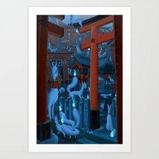 Fushimi Inari Taisha Art Print