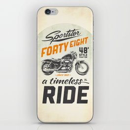 Forty Eight iPhone Skin